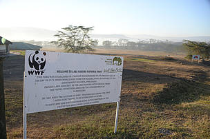 WWF's first intervention in Kenya was securing the land that is now Lake Nakuru National Park